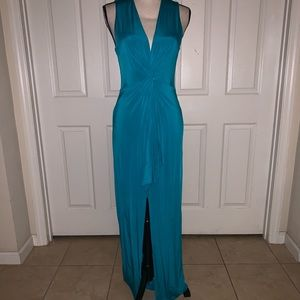 Bebe Fitted Long Dress